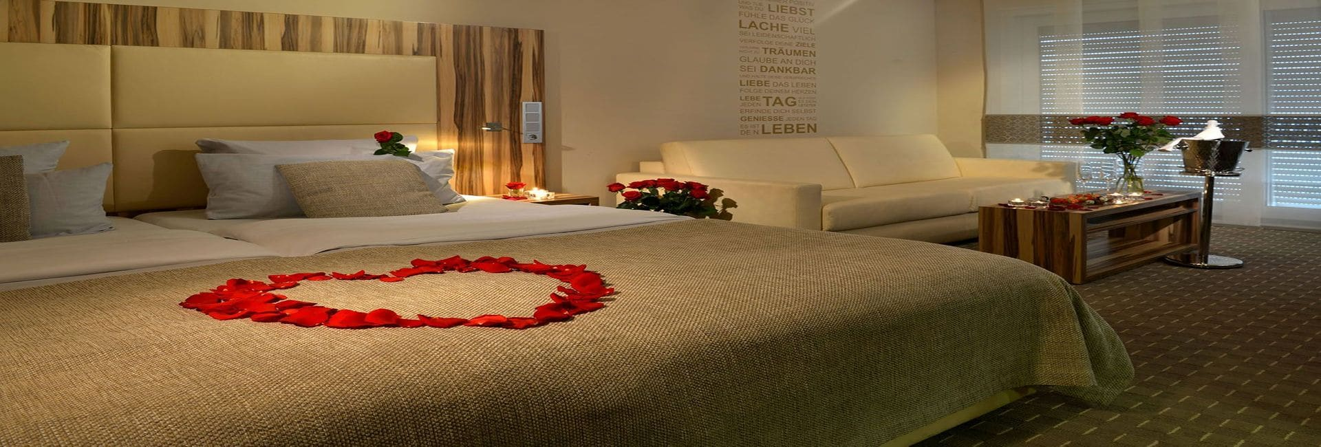 Juniorsuite Parkhotel Oberhausen Romantik