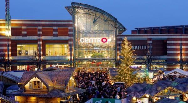 Centro Weihnachtsmarkt Eingang