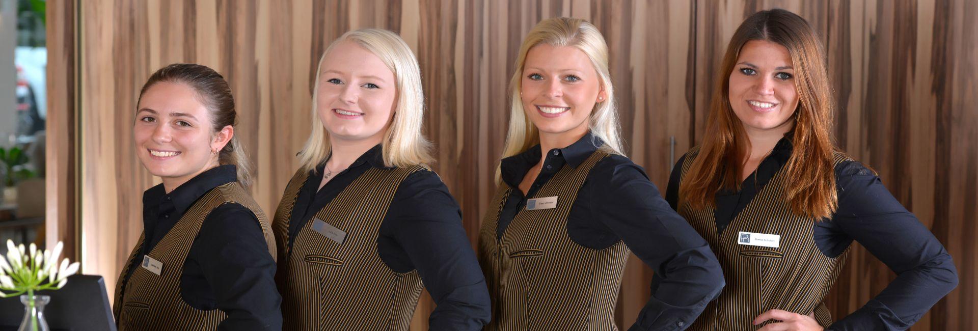 Rezeptions Team Parkhotel Oberhausen