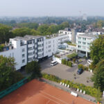 Parkhotel Oberhausen aus der Vogelperspektive